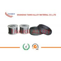 China 22 Awg Oxidized Surface Chromel Nisi / Alumel Bare Thermocouple Wire Without Insulation on sale