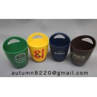 Cheap fashion colorful plastic ice bucket for sale