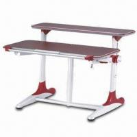China Fireproof Computer Table with Gas Lift Mechanism and Quick Release Lock on sale