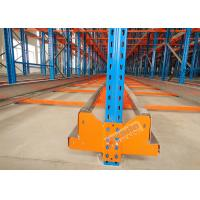 Cheap High Density Storage Racks Radio Shuttle Racking Adjustable Baseplate Type 50 Meters Per Min wholesale