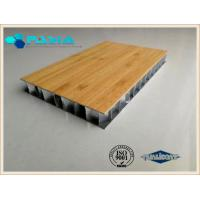 China Noise-proof Heat-insulated Aluminum Honeycomb Core Panel For Decoration Industries on sale