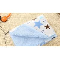 China Flame Retardant Waterproof Printed Knitted Polyester Baby Blanket Baby Swaddler Blanket on sale