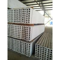 Cheap MgO / Mgcl2 / Fiber Precast Hollow Core Wall Panels Partition Wall Board for sale