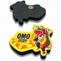 Cheap Art Paper Refrigerator Magnets, Available in Various Designs, Customized Orders are Accepted for sale
