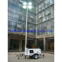Cheap 9m Mobile Lighting Tower with Kutoba Engine for sale