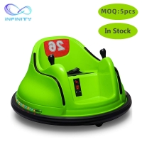 Cheap Christmas Gifts Kids Ride On Bumper Car Remote Control / Self Control for sale