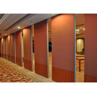 Cheap Multi-Purpose Room Internal Bi Fold Doors , Sliding Internal Doors For Meeting Room for sale