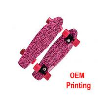 Cheap High quality truck can be OEM LOGO printing skateboard for sale