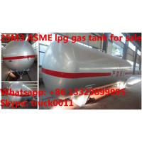 Cheap 25,000L ASME standard propane gas storage tank for sale, factory sale best price ASME stamped 25m3 lpg gas storage tank wholesale