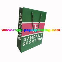 Cheap durable colorful paper bag/shoes bag /recycled paper bag for sale