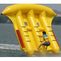 Cheap Exciting Inflatable Toy Boat , 0.9mm PVC Inflatable Flyfish for Water Sport for sale