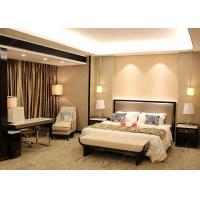 Cheap Veneer And Marble Five Star Hotel Furniture , King Size Hotel Style Bedroom Furniture for sale