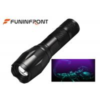 Cheap 3W Powerful 395NM UV LED Flashlight with Adjustable Focus for Scorpion Hunting for sale