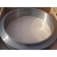 Buy cheap Large Flange ASTM Forged Steel Rings Of Round Disk Shape , Carbon Steel ISO 9001 from wholesalers