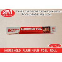 Cheap Recyclable Extra Heavy Duty Aluminum FoilBaking Paper 12 Micron Thickness for sale