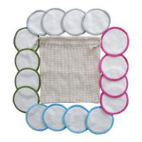 Buy cheap OEM Reusable Makeup Remover Pads With 2 Layer Super Absorb Dry / Ventilated from wholesalers
