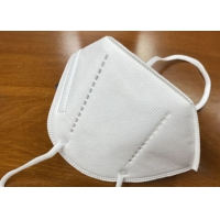 Cheap GB2626-2006 Disposable Nonwoven KN95 Respirator Earloop Mask for sale
