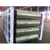 Buy cheap ISO11439 CNG Storage Tanks , 250 Bar 200L X 40 EA 20FT Compressed Natural Gas from wholesalers