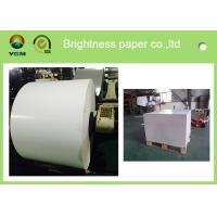 Cheap Jumbo Roll Blister Board Paper Large White Cardboard Moisture Proof for sale
