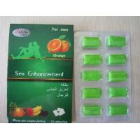 Cheap Orange Oral Chewing Gum Sex Enhancement for Man for sale