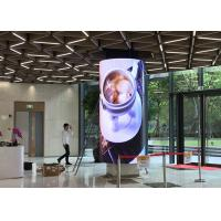 China Ultra Thin Super Light HD P4 Flexible Soft LED Display Video Wall Screens For Advertising Stage on sale