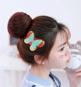 Cheap Custom Designs Baby Girls Hair Velcro Pad , Newborn Velcro Hair Bows wholesale