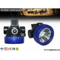 Cheap 1 Watt CREE Cordless Mining Lights ATEX Approved 4000 Lux Brightness for sale
