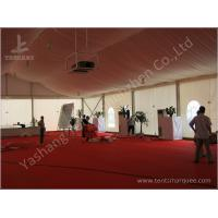 Cheap Enclosed Space Elegant Wedding Event Tent Clear Span Marquee White Canopy wholesale