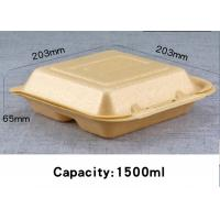 Cheap Biodegradable Corn Starch Disposable Foam Food Containers Lunch box Cup for sale