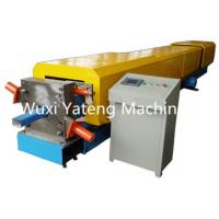 Buy cheap Panasonic PLC Control Gutter Roll Forming Machine 18 - 20 Stations Lifetime Services from wholesalers