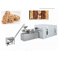 China Healthy Oatmeal Chocolate Bar Food Production Equipment Capacity 100~350 Kg/H on sale
