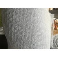 Cheap PTFE Mix Plastic Knitted Wire Mesh 316 Stainless Steel For Vapor - Liquid Separation for sale