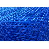 Cheap high quality powder coated double loop wire mesh metal garden fence from Anping Manufacture for sale