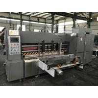 Cheap 380V 50HZ Automatic Rotary Die Cutting Machine For 3/5/7 Corrugated Cardboard for sale