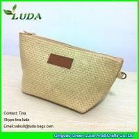 Cheap cheap lady straw handbags foldable paper straw clutch bags for sale