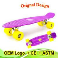 Cheap best Christmas gift customed color fish skateboard for kids for sale