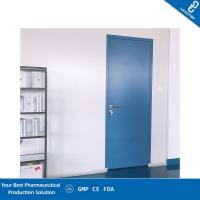 Cheap Paper Honeycomb Sandwich Panel Door / Operating Room Doors With Air Lock System for sale