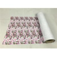 Cheap Washable Sublimation Metallic Vinyl Material Army Pink Camouflage For Leather for sale