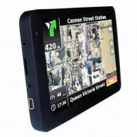 Cheap Super Slim GPS/Glonass Navigation System, Supports Windows CE 6.0 OS for sale