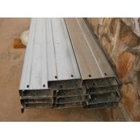 Cheap Automatic Drilled Holes Steel Building Purlins, Cold Rolled Steel C Purlin for sale