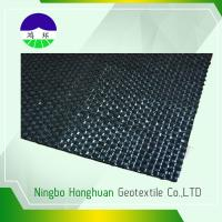 Cheap 140kn / 98kn Woven Geotextile Fabric ,  Road Construction Geotextile Driveway Fabric for sale