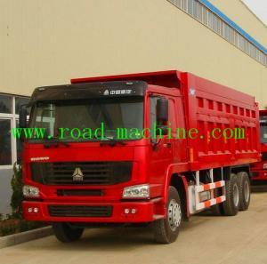 Heavy Duty Dump Truck SINOTRUK HOWO Tipper Truck 6 X 4 on sale