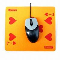 Cheap Mouse Pad with Silkscreen Printing, Made of EVA and PVC, Suitable for Promotional Purposes for sale