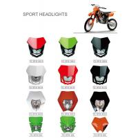 Cheap Various Colors Led Motorcycle Driving Lights , Led Motorcycle Headlight New ABS Material for sale