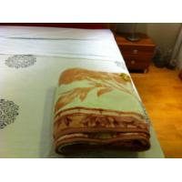 Cheap Breathable Super Soft Blanket Double Printed For Hotel / Home for sale