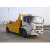 Buy cheap Durable Vehicle Failure Wrecker Tow Truck , Flatbed Type Road Breakdown Recovery from wholesalers