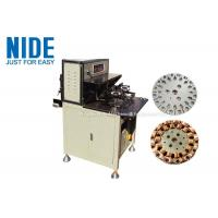 Cheap Fast Automatic Coil Winding Machines More Efficent , Table Fan Stator Winding Machines for sale