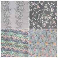 Cheap 140cm Width Pure Silk Crinkle Crepe Fabric With Digital Inkjet Printing for sale