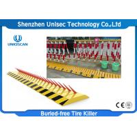 Buy cheap IP67 Waterproof Automatic Spike Barrier Two Way Direction Tyre Killer Barriers from wholesalers