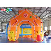China C4*4m Oxford Fabric Inflatable Christmas Archway For Holiday Decorations on sale